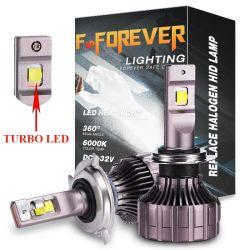 Auto partie Bombillo luz del 9007 H11 880 H4 LED Lampe phare Kit LED Luces H1 9005 H13 K1 Projecteur LED H7 Voyant Turbo