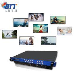 HDMI 9 채널 All-Digital 3D Video 4K * 2K 매트릭스 스위처 지원 Hdcp1.4 사양