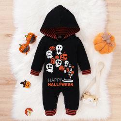 Baby Hoodie Spielanzug-neugeborene Halloween-Overall-Ausstattungs-langes Hülsen-Bodysuit-Säuglingskostüm Esg16239