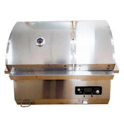 Il BBQ elettrico cuoce la griglia alla griglia di legno del BBQ del fumatore della pallina dell'acciaio inossidabile della griglia della pallina