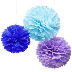 POM POM Fleur de tissu des balles pour la décoration de mariage