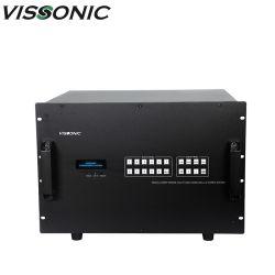 HD4K SEM Matriz híbrida LED/LCD 36X36 Video Processador na parede