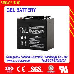 Le stockage, de la batterie 12V 50Ah50-12 de l'accumulateur de gel (SRG)