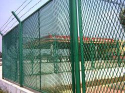 Reticolato d'acciaio in espansione della rete fissa ricoperto PVC della lamina di metallo