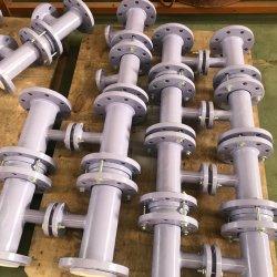 Anticorrosione chimica raccordo a T per tubi stampati rivestito in PTFE rivestito in acciaio