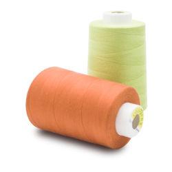 Filato cucirino Memoria-Filato poliestere del filato cucirino del tessuto 100%
