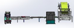 documento di macchina piegante di carta automatico del fazzoletto per il trucco 6L