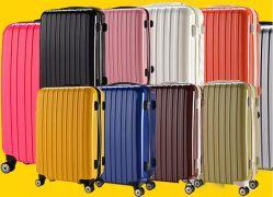 폴리카보네이트 트롤리 여행 가방