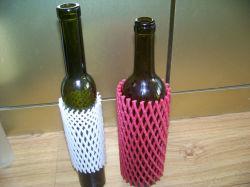 precio de fábrica la botella de cristal de 20cm personalizada Manga Net para mostrar y protección en el supermercado