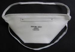 Одноразовые нетканого материала класс FFP2 подсети пылезащитную маску с/без клапана (SC-DM001)