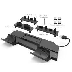 2 in 1 PS4 multifunctionele oplaadfunctie en verticale standaard voor PS4-console en gamepad