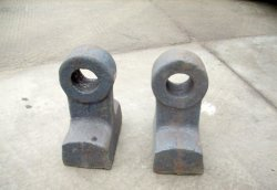 Alto pezzo fuso del ferro del bicromato di potassio dal pezzo fuso perso della gomma piuma