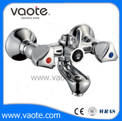 Двойная ручка общей ванной под струей горячей воды/миксер (VT61801)