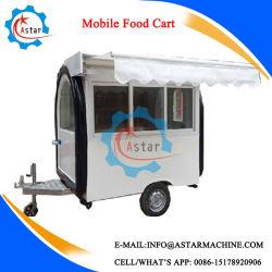 Conception économique Kiosque d'aliments de restauration de véhicule électrique chariot