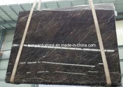 China mármol marrón de oro de losa de mármol de Jade