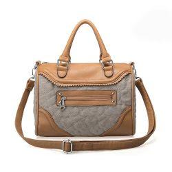 Nuevo estilo bolso de cuero Tejido duradero&