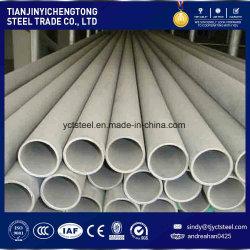 TP304 Naadloze Pijp van de Buis van het roestvrij staal de Naadloze met Diameter Met hoge weerstand, Grote, Dikke Muur