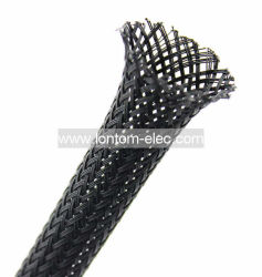 Tube extensibles en polyester tressé le manchon de câble