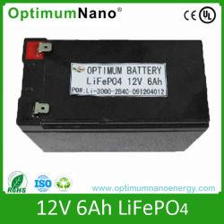 LiFePO4 Battery Pack 12V 6ah Video, Solar Street Light Battery