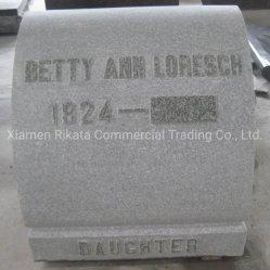 Défile pierre commémorative personnalisée avec lettrage