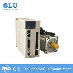 La precisión de alta precisión de la brida de 80 750W 220V 380V AC servo motor servo Drive con 17 bits de valor absoluto del Codificador Magnético