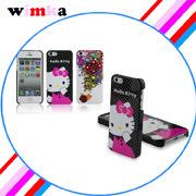 Hallo entwerfen Miezekatze-/Phone-Zusatz-/Hello-Miezekatze-Kasten für iPhone 5. eben,/einzelne untere Anstrich-Fall von Dongguan (WIMKA-P01)