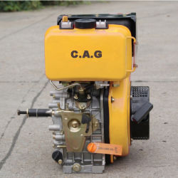 Ручной пуск 9 Кассета на 186 HP f 406cc дизельный двигатель с воспламенением от сжатия сельскохозяйственных