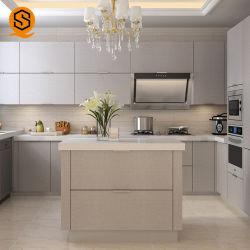 Comptoirs de cuisine en résine époxy préfabriqués Comptoir de cuisine en marbre haut de page