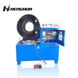 Mangueira de Alta Pressão Máquina de crimpagem do cabo de controlo PLC Ferramentas de Crimpagem