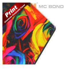 Acm de 3mm Matt White de la publicité en matériau composite en aluminium pour panneau d'impression UV ACP