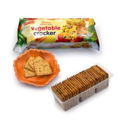 Vente en gros Custom Private Label 9 types de légumes Cracker snack nourriture