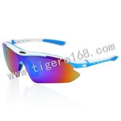 Blocco per grafici affascinante del PC che esegue gli occhiali da sole di riciclaggio di sport degli occhiali da sole di Polazed di vetro di Eyewear