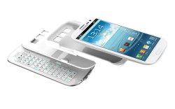Сдвинув и постоянного съемные Bt клавиатуру для Galaxy S3 (KRSK04-S3)