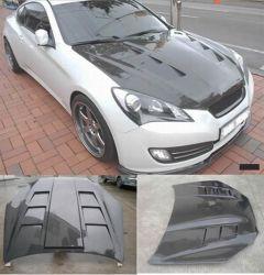 Kohlenstoff Fiber Hood (Bonnet) für Hyundai Genesis 2008+