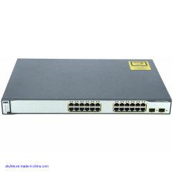 La serie Cisco 3750 100BASE-FX 24 puertos switch WS-C3750-24fs-S