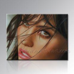 写真からのオイルの肖像画の絵画