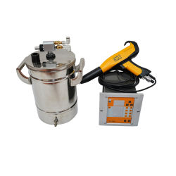 Poudre 10/15L petit portable Revêtement en poudre électrostatique de la machine de test de métal (Colo-191S-H)