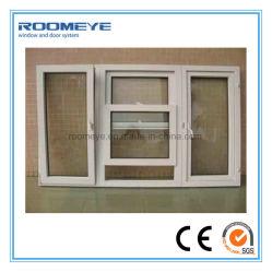 نافذة Roomeye PVC Turn&Tilt/Hung/Casement مع جلبة مزدوجة