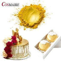 محلول ملمع غذائي إضافي طهياً طهياً للغبار الذهبي