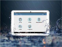 10.1인치 태블릿 PC Android 8.1 L Shape 데스크탑 고객 피드백 및 검토 시스템 HD 1280x800