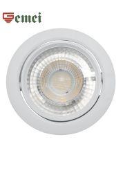 Ronda de LED branco Teto moderna iluminação pontual encastrados baixar luz ajustável com Marcação RoHS