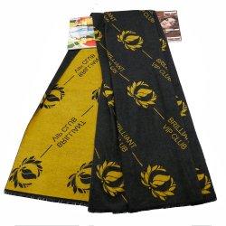 Venta caliente de alta calidad unisex de moda Bufanda de invierno Mens Womens imitación de algodón de cachemir personalizados personalizables con Logo