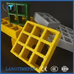 38*38*25mm de fibra de vidrio reforzado FRP Barranco OEM rallar rallar el suelo de plástico