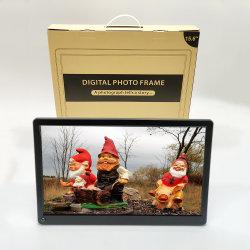 Moldura fotográfica digital de 15 polegadas 1920X1080 de alta definição Digital Photo Frame Auto rotate Adicionar fotos/vídeos através de APP