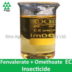 Fenvalerate 2.5% + antiparassitario & acaricida dell'insetticida di EC di Omethoate 22.5%