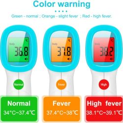 Производитель цифровой Non-Contact Dikang органа медицинских ручной инфракрасный лоб ушной термометр