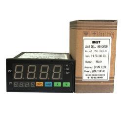 DN8 4 LED de alta ou baixa do visor digital de saída de alarme para célula de pesagem da célula de carga Indicador do Sensor de 24VDC/AC220V (IBEST)