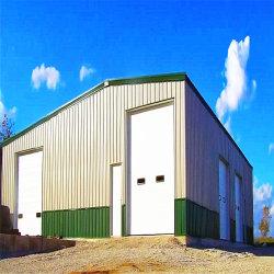 Prebarises Construction High Rise Steel Structure Car Shop/Warehouse/Workshop/Exhibition Hall/Building with Mezzanine te koop