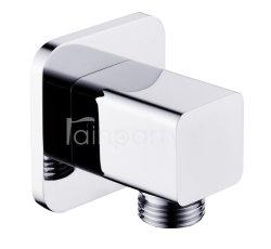Adattatore quadrato del gomito del rifornimento dell'acquazzone della mano della presa di parete dell'acquazzone di G 1/2 dell'accessorio della stanza da bagno