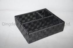 PP cinturón mano-tela cesta de almacenamiento Juego de basura de almacenamiento ecológico para Almacenamiento de alimentos y pan